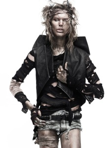 Iselin Steiro by David Sims for Vogue Paris March 2010 (2)