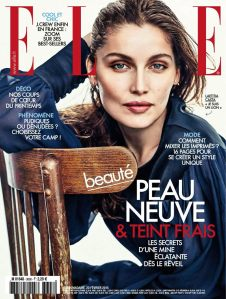 Laetitia Casta by Andreas Sjodin for Elle France February 20th, 2015 (1)