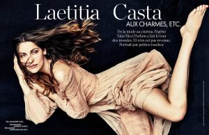 Laetitia Casta by Andreas Sjodin for Elle France February 20th, 2015 (2)