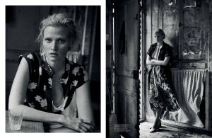 Lara Stone By Peter Lindbergh For Interview March 2015 (2)