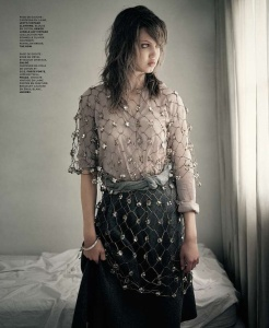 Lindsey Wixson by Paolo Roversi (Torpeur d'Automne - M Le Monde #103 September 2013) 3