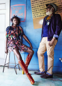 Melodie Monrose By Liz Collins For Us Elle March 2015 (3)