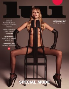 Natasha Poly By Luigi & Iango For Lui March 2015 Cover