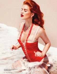 Rianne Ten Haken By Petrovsky & Ramone For Vogue Netherlands JulyAugust 2012 (3)
