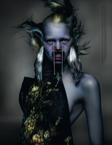 Stella Lucia, Julia, Aymeline, Romy And Nika By Nick Knight For AnOther Spring  Summer 2015 (2)