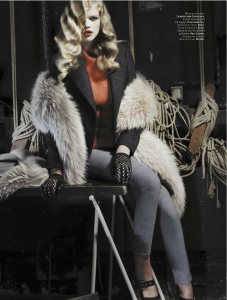 Valerie Van Der Graaf By Robert Bellamy For L'officiel Paris November 2013 (4)