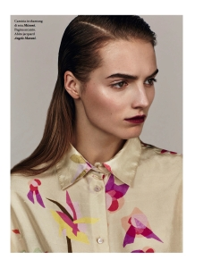 Agne Konciute And Gwen Loos By Thomas Cooksey For Io Donna 21st February 2015 (1)