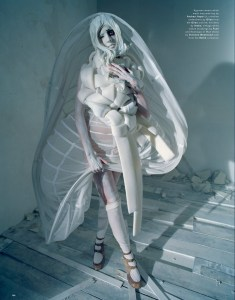 Agyness Deyn by Tim Walker for Love #13 Spring Summer 2015 (3)