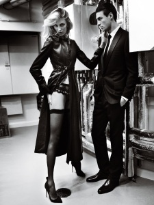 Anja Rubik And Nikolai Danielsen By Mario Testino For Vogue Paris April 2015 (3)
