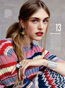 Esther Heesch and Hedvig Palm by Patrick Demarchelier for S Moda Spain 14th February 2015 (2)
