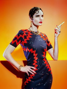 Iris Strubegger by Miles Aldridge for Vogue Italia March 2015 (3)