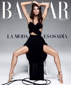 Isabeli Fontana By Alique For Harper's Bazaar Spain April 2015 (15)