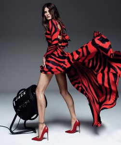 Isabeli Fontana By Alique For Harper's Bazaar Spain April 2015 (2)