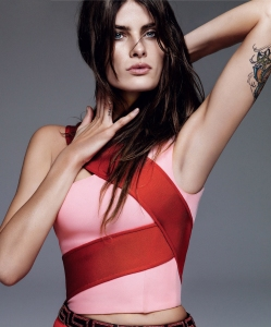 Isabeli Fontana By Alique For Harper's Bazaar Spain April 2015 (4)