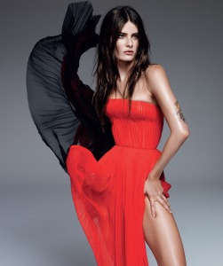 Isabeli Fontana By Alique For Harper's Bazaar Spain April 2015 (9)
