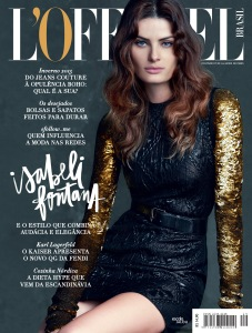 Isabeli Fontana by Nicole Heiniger for L'Officiel Brazil March (4)