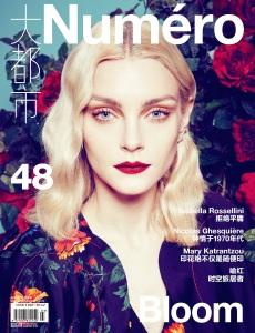 Jessica Stam by Sofia Sanchez & Mauro Mongiello for Numéro China April 2015 (1)