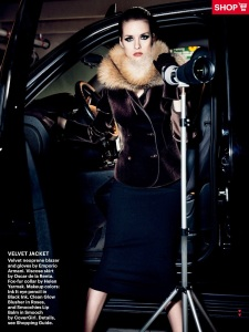 Julia Frauche By Nicolas Moore For Allure September 2013 (2)