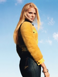Lara Stone By Alasdair Mclellan For Vogue Paris April 2015 (1)