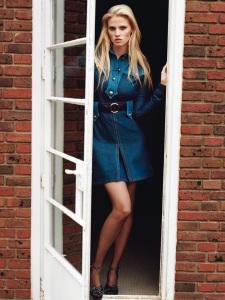 Lara Stone By Alasdair Mclellan For Vogue Paris April 2015 (2)