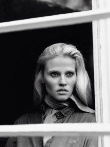 Lara Stone By Alasdair Mclellan For Vogue Paris April 2015 (3)