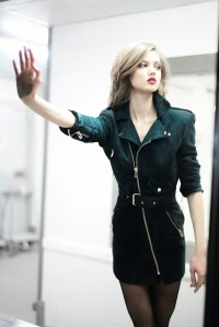 Lindsey Wixson By Mathieu Cesar For Alexandre Vauthier FW 2015.16 Paris (4)