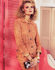 Magdalena Frackowiak By Sharif Hamza For Vogue Japan February 2012 (11)