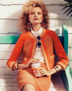 Magdalena Frackowiak By Sharif Hamza For Vogue Japan February 2012 (9)
