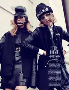 Marlena Szoka And Mariska Van Der Zee By Alessio Bolzoni For Glamour France September 2013 (10)