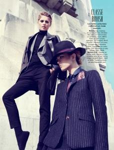 Marlena Szoka And Mariska Van Der Zee By Alessio Bolzoni For Glamour France September 2013 (8)