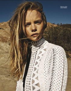 Marloes Horst By Vanmossevelde+N For Grazia France 27th February 2015 (3)