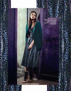 Nikola Romanova by Jasper Abels for for Elle France 29th November 2013 (10)