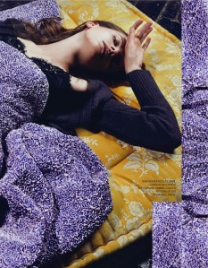 Nikola Romanova by Jasper Abels for for Elle France 29th November 2013 (7)
