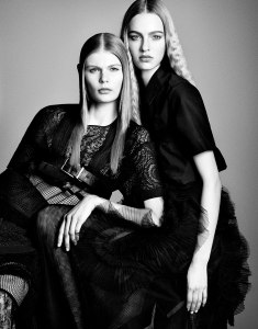 Suvi, Maartje, Liu, Vanessa, Binx, Daria, Sam + More By Luigi & Iango For Vogue Japan April 2015 (2)