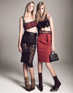 Suvi, Maartje, Liu, Vanessa, Binx, Daria, Sam + More By Luigi & Iango For Vogue Japan April 2015 (21)