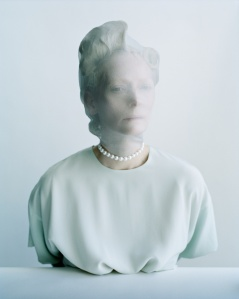 Tilda Swinton & Lady Amanda Harlech by Tim Walker for W Magazine December 2014 (1)
