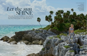 Aline Weber by Gilles Bensimon for UK Vogue May 2015 supplement (1)