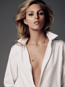 Anja Rubik By Paul Schmidt For Elle Croatia April 2015 (11)