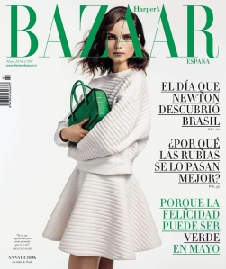Anna De Rijk By Bela Adler And Salvador Fresneda For Harper's Bazaar Spain May 2014 (1)