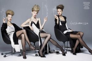 Antonina, Mia, Chiharu, Anna, Nastya, Barbara, Aya, Lida, Stella Lucia, Lindsey & More For Cr Fashion Book #6 (9)