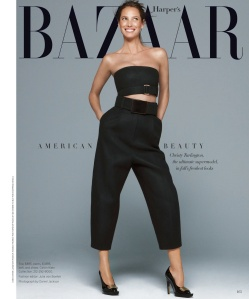 Christy Turlington By Daniel Jackson For Us Harper's Bazaar JuneJuly 2013 (2)