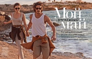 Emily Didonato And Jarrod Scott By Mariano Vivanco For Vogue Russia May 2015 (1)