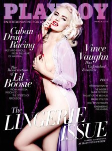 Gia Genevieve by Ellen von Unwerth Playboy US March 2015 (1)