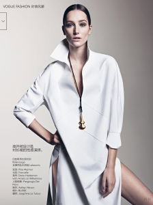 Joséphine Le Tutour by Sharif Hamza for Vogue China May 2015 (2)