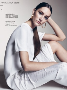 Joséphine Le Tutour by Sharif Hamza for Vogue China May 2015 (3)