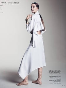 Joséphine Le Tutour by Sharif Hamza for Vogue China May 2015 (4)