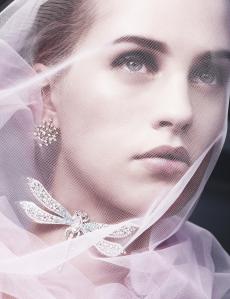 Julia Frauche by Benjamin Lennox for Harper's Bazaar US December January 2014-2015 (1)