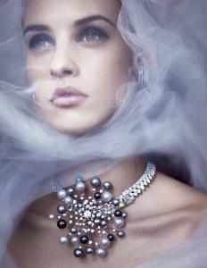 Julia Frauche by Benjamin Lennox for Harper's Bazaar US December January 2014-2015 (4)