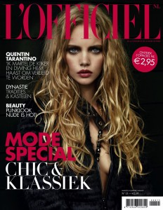 Marloes Horst by Marcin Tyszka for L'Officiel Netherlands October 2009 (1)