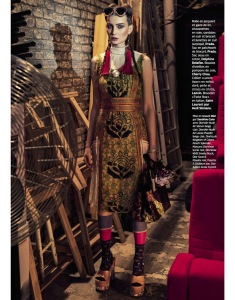 Petra Hegedus By Honer Akrawi For Grazia France 20th March 2015 (2)